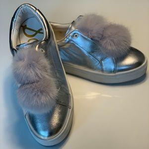 Sam Edelman puff ball sneakers